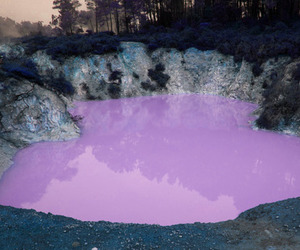 purple, water, and nature image