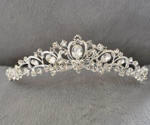 tiaras, love, and wedding image