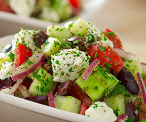 delicious and salad image
