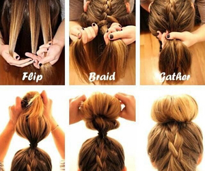 braid, hair, and styles image
