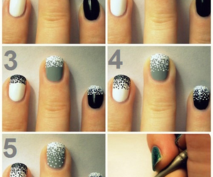 dots, nails, and Easy image