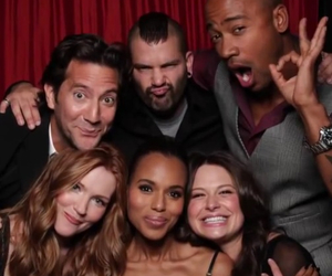 cast, scandal, and show image