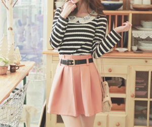 fashion, korean, and korean fashion image