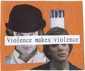 violence and movie image