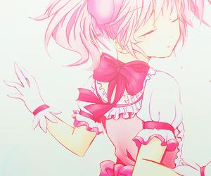 anime, pink, and anime girl image