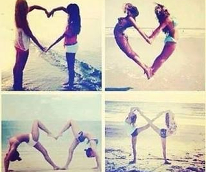 best friends, cool, and love it image