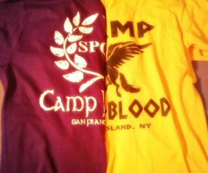 percy jackson, camp halfblood, and demigod image