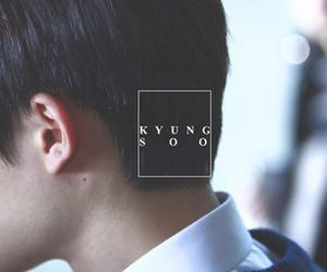 exo, kyungsoo, and kpop image