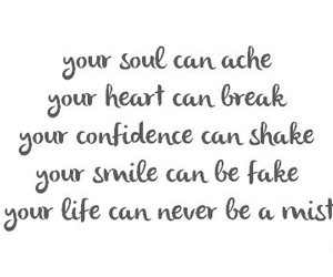 quote, life, and confidence image