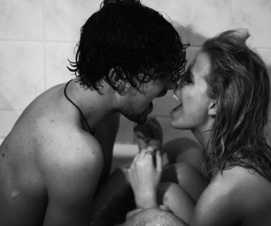 bath, love, and boyfriend image