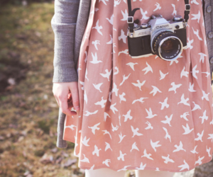 camera, dress, and photography image