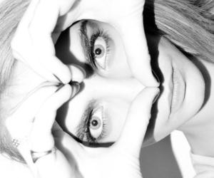 black & white, ♡, and cara delevingne image