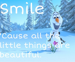 smile, frozen, and beautiful image