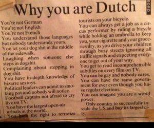 why you are dutch image