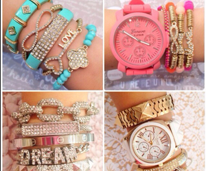 bracelets and watch image