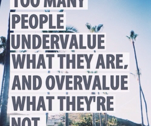 quote, true, and undervalue image