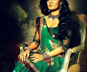 actress, indian, and ornaments image