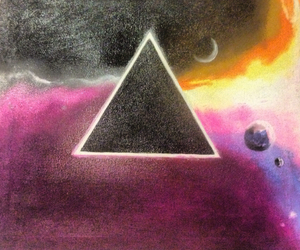 art, dark side of the moon, and david gilmour image