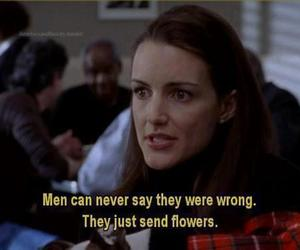 quote, flowers, and men image