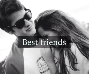 best friend, girl, and kiss image