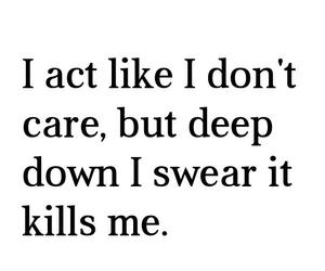 quotes, kill, and sad image