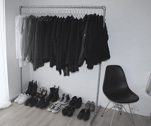 black, fashion, and minimalism image