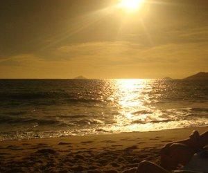 areia, beach, and beautiful image