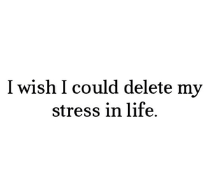 stress, life, and delete image