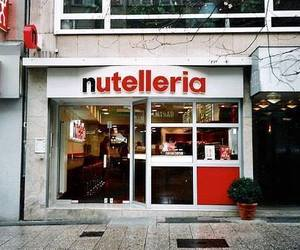 nutella, nutelleria, and chocolate image