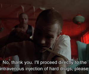 drugs, heroin, and ewan mcgregor image