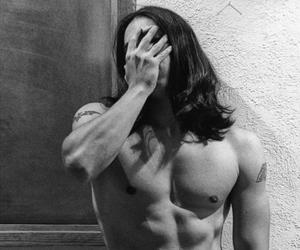 boy, guy, and long hair image
