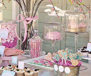 pink, sweet, and cupcake image