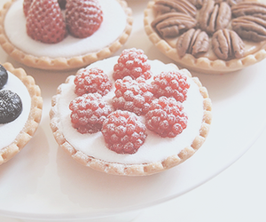 berries, delicious, and dessert image