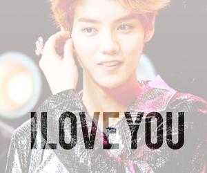 fanart, iloveyou, and luhan image