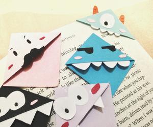 bookmark, diy, and girl image