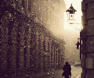 snow, rain, and winter image