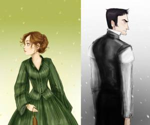 north and south, margaret, and mr. thornton image