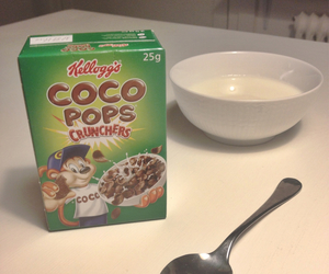 cereal, childhood, and chocolate image