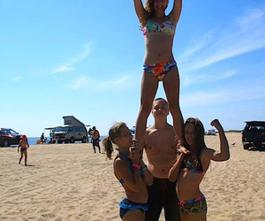 beach, cape cod, and cheer image