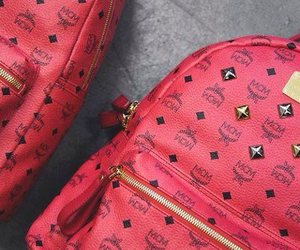mcm, fashion, and red image
