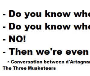 citat, d'artagnan, and porthos image