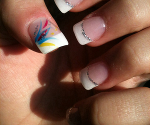 nails, Prom, and prom nails image