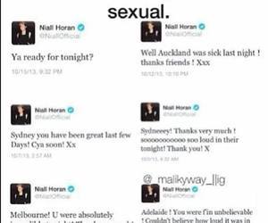 tweets, horan, and niall image