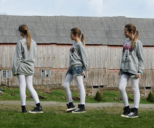 clothing, converse, and girl image