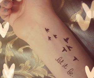 birds, cool, and tattoo image