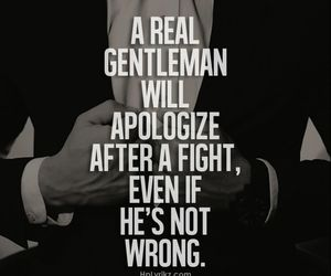 gentleman, apologize, and fight image