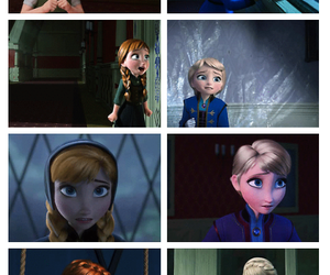 anna, frozen, and growing up image