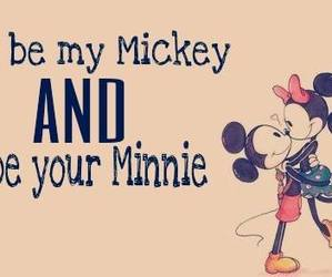 love, minnie, and mickey image