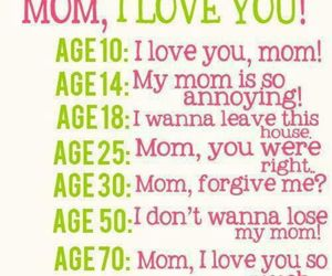 mom, quotes, and age image