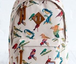 bird, backpack, and bag image